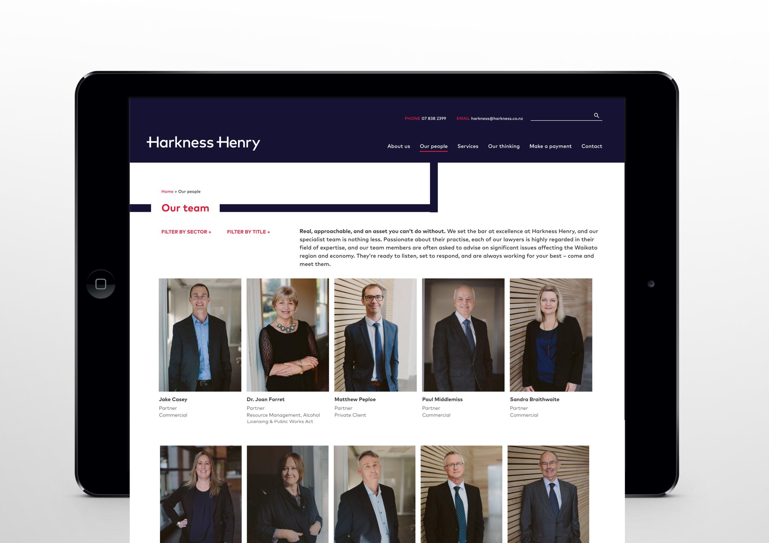 Harkness Henry | Branding | Strategy | Website