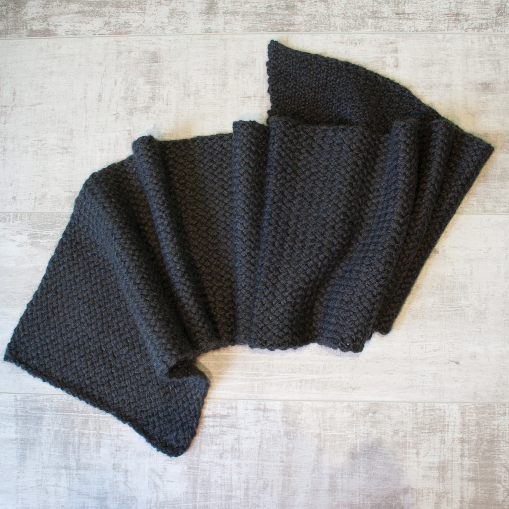 The 285 Scarf in Coal
