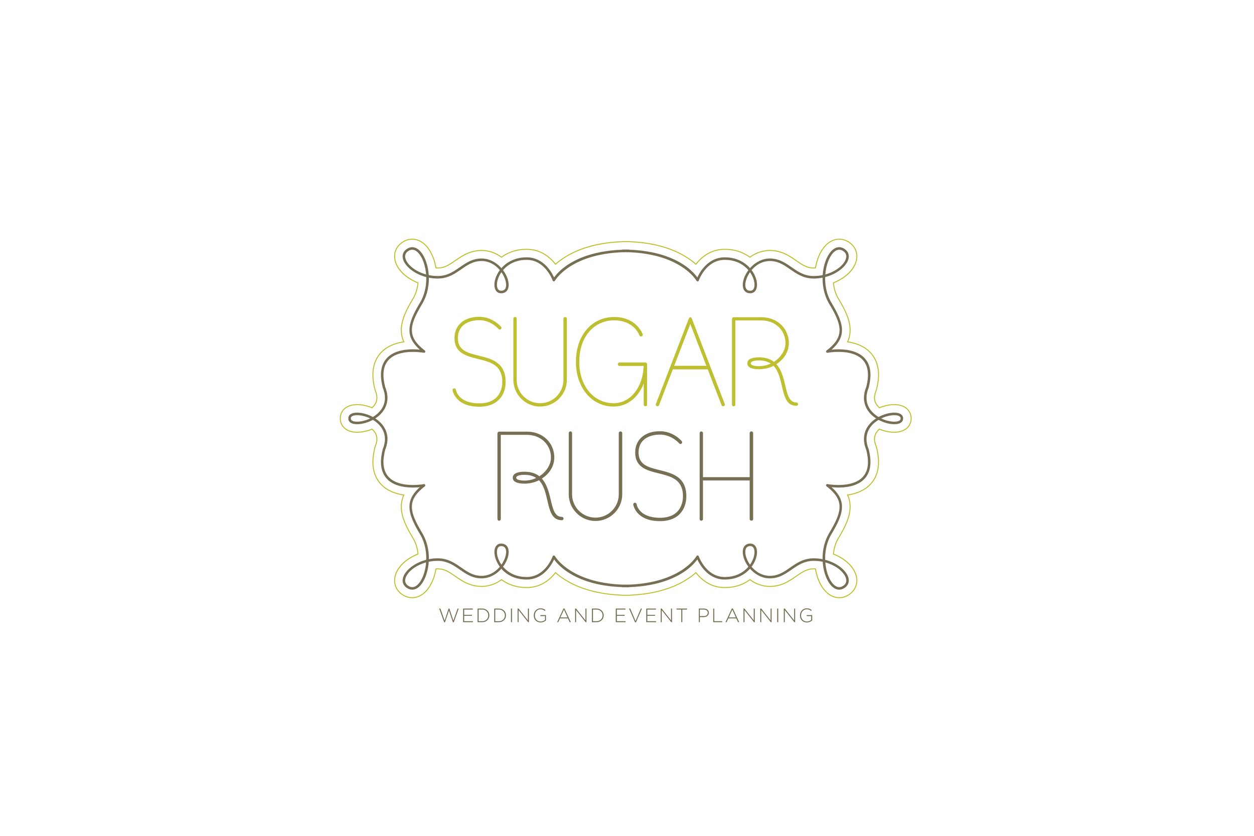 Sugar Rush Events Logo & Web Design