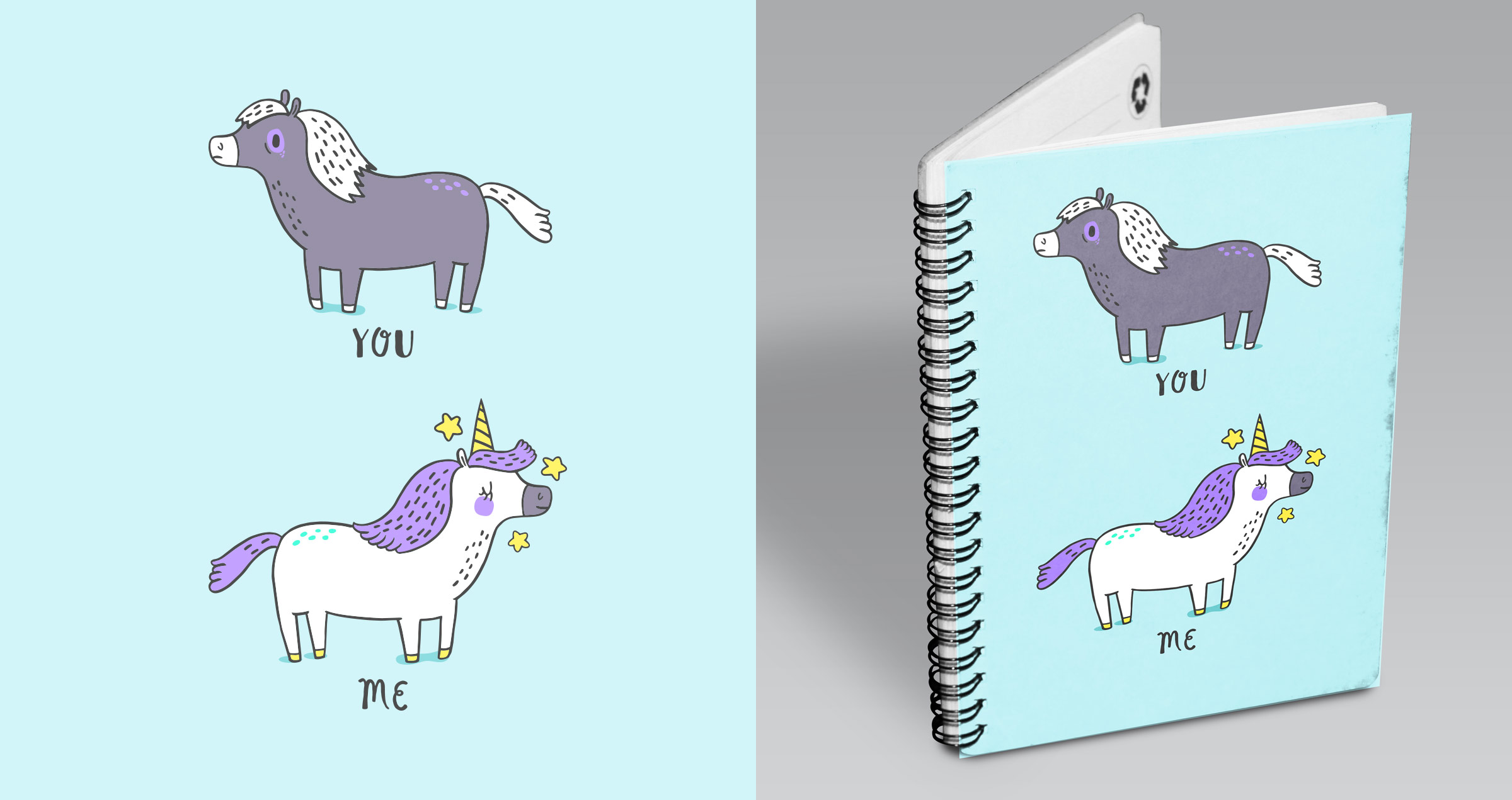 Mead Back To School Notebook Design