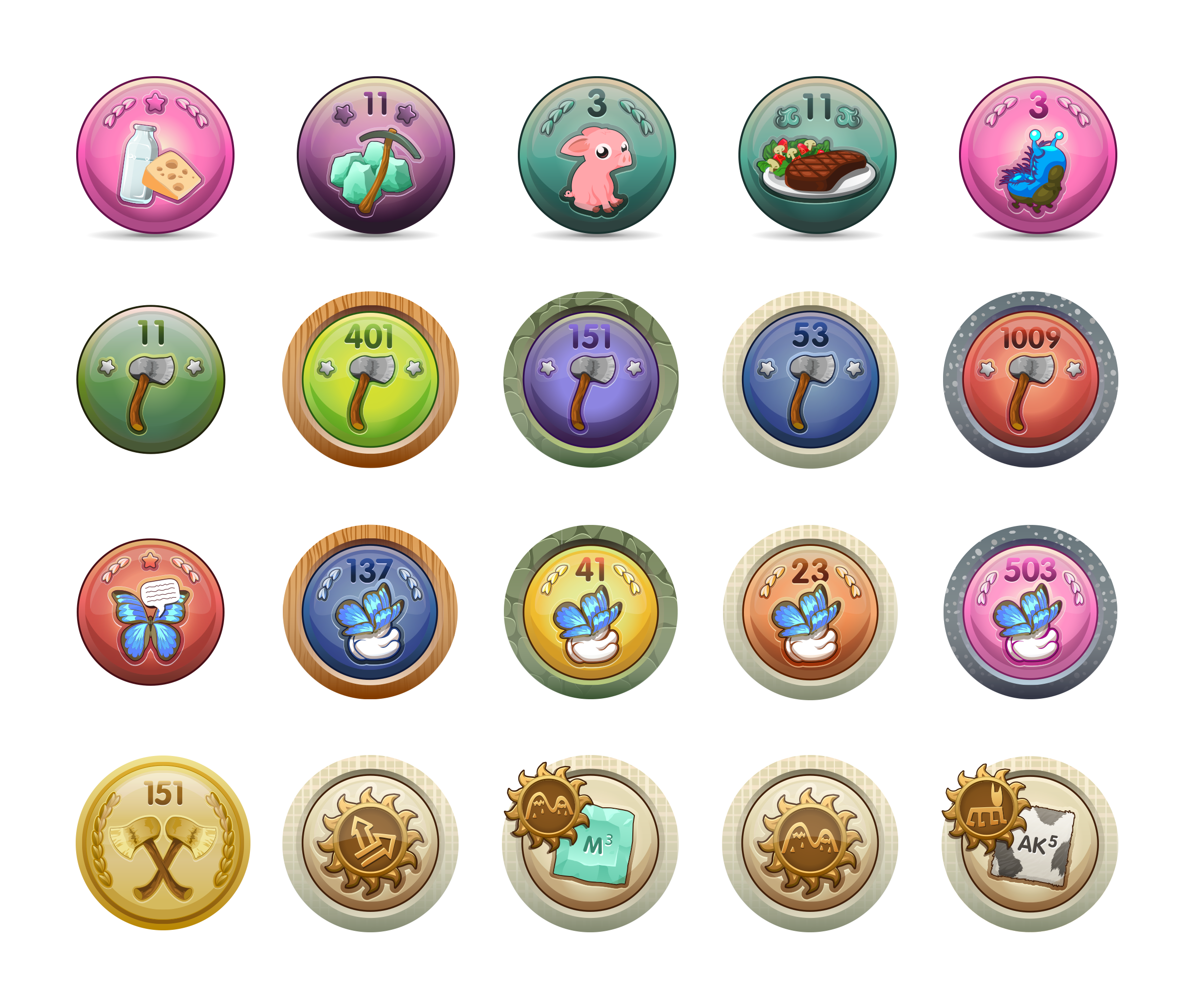 Glitch Award Badges System