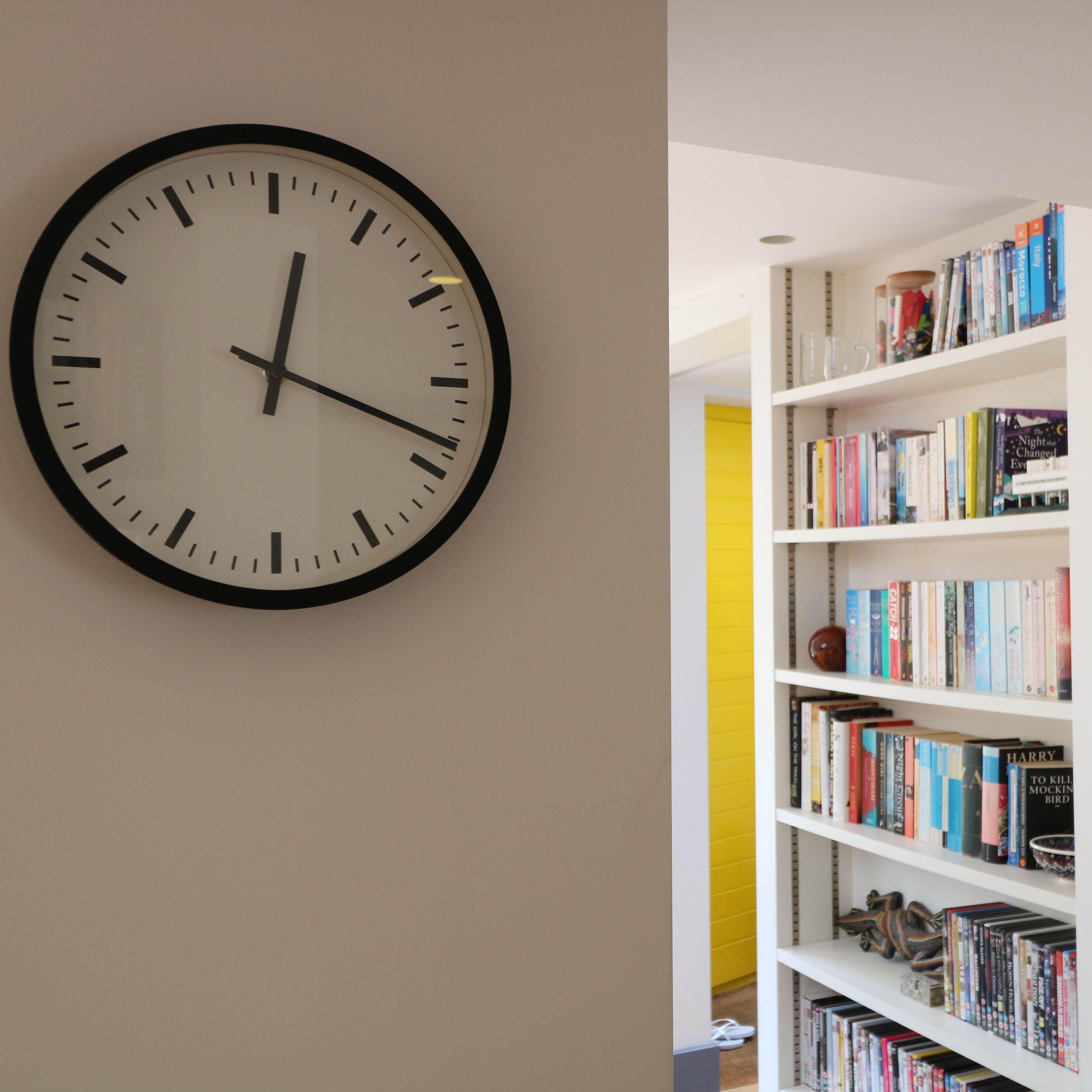 Bespoke joinery bookshelves