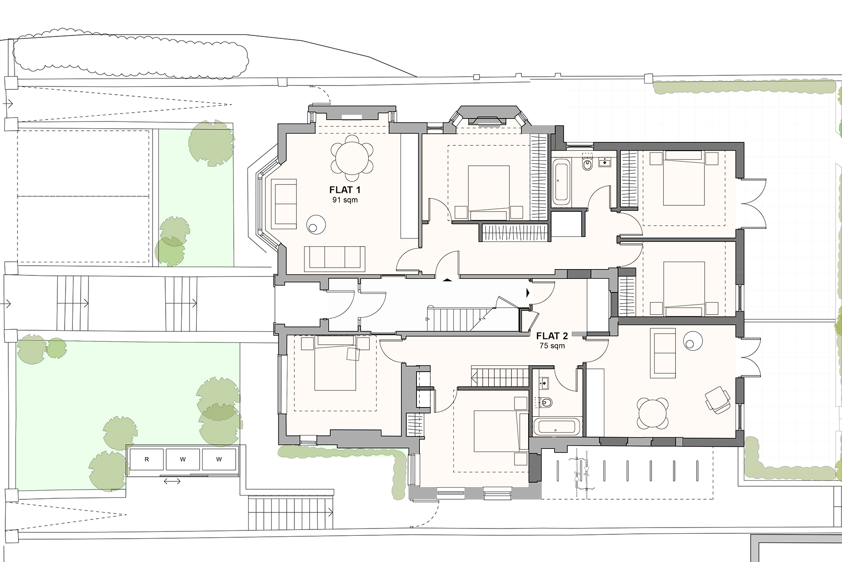 Proposed Ground Floor Plan