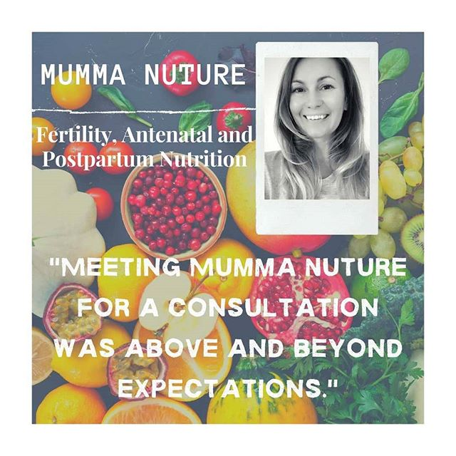 🌟 FERTILITY, ANTENATAL AND POSTNATAL NUTRITION🌟 .  We are beyond delighted to welcome Mumma Nuture to MummaPod .  Nutrition has an important impact on reproductive health and laying the foundations for a healthy pregnancy and baby. Whether it is supporting you with dietary and lifestyle recommendations to improve fertility and getting you in the best possible shape for pregnancy or helping you understand the nutritional requirements throughout each stage of your pregnancy, Mumma Nurture is here with the latest evidence in the field of nutrition to help you in your journey. We will take a full health history and discuss your current diet and lifestyle choices, after which we will provide you with an individualised plan to support you. .  Anna's passion for nutrition only came when she started to think about having a family of her own. Having spent 17 years living with a condition called Polycystic Ovarian Syndrome (PCOS) which left her with irregular, almost non-existent cycles and having no clue as to when she might next ovulate, Anna began to research her condition. In 2013, not content with the advice she had received so far from the GP (stay on the pill to manage your symptoms until you want a family, then your only chance of pregnancy will probably be IVF), Anna began to train as a Nutritional Therapist at the prestigious College of Naturopathic Medicine in London. During her 3 years training Anna successfully managed to regulate her cycles for the first time through dietary and lifestyle interventions and armed with her new understanding of how nutrition and lifestyle plays a vital role in fertility and pregnancy, went on to have two beautiful children, Isabella born 2013 and Theo born 2015. Anna has gone on to support women with their hormonal health and helped nurture Mummas-to-be with the right nutrition advice for them and their growing family. .  WANT TO FIND OUT MORE? VISIT OUR WEBSITE OR SEND US A DM. WE ARE OFFERING 10% OFF FOR 48 HOURS ONLY (offer ends