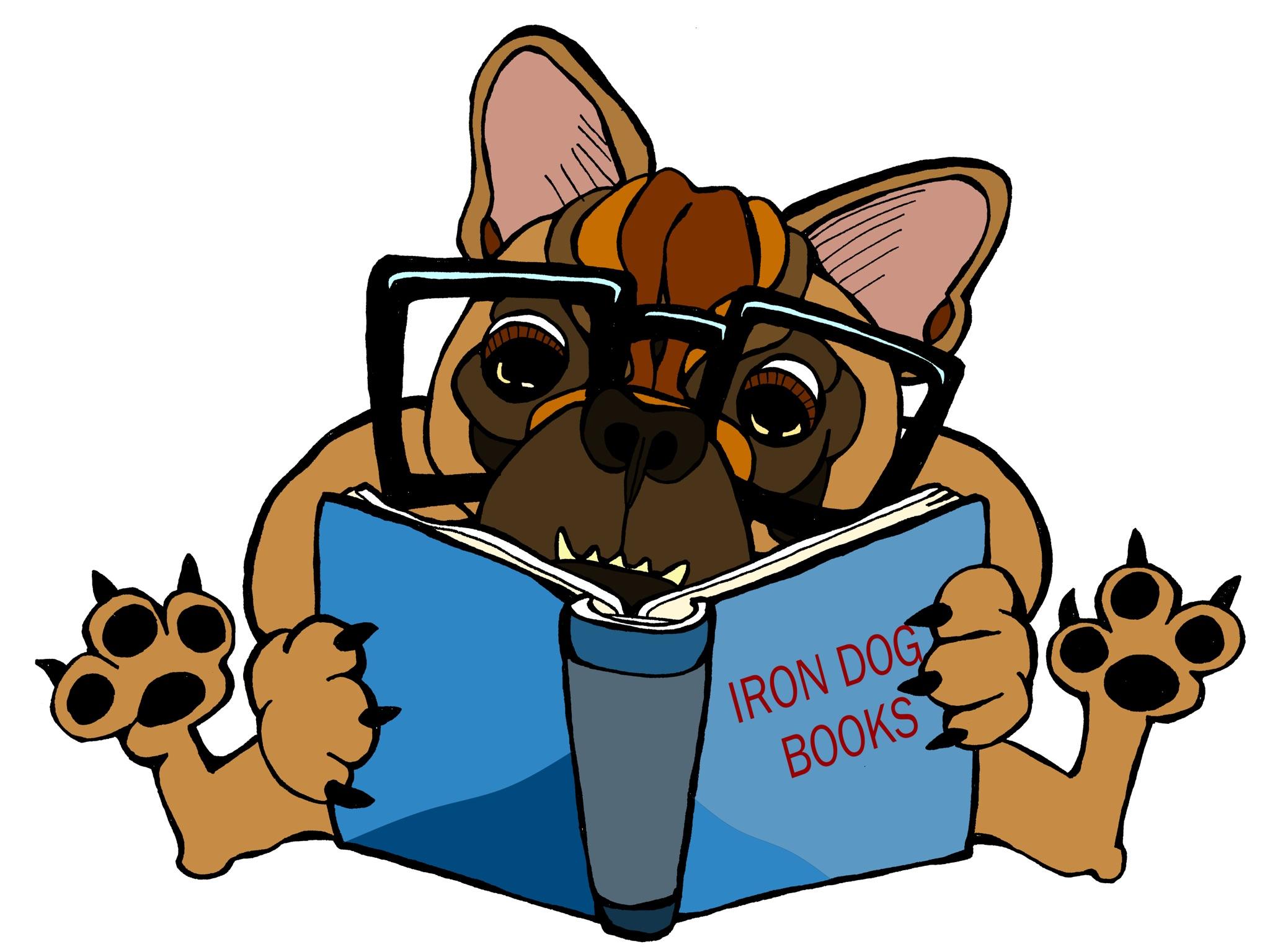 Literate French Bulldog by dea Kearns
