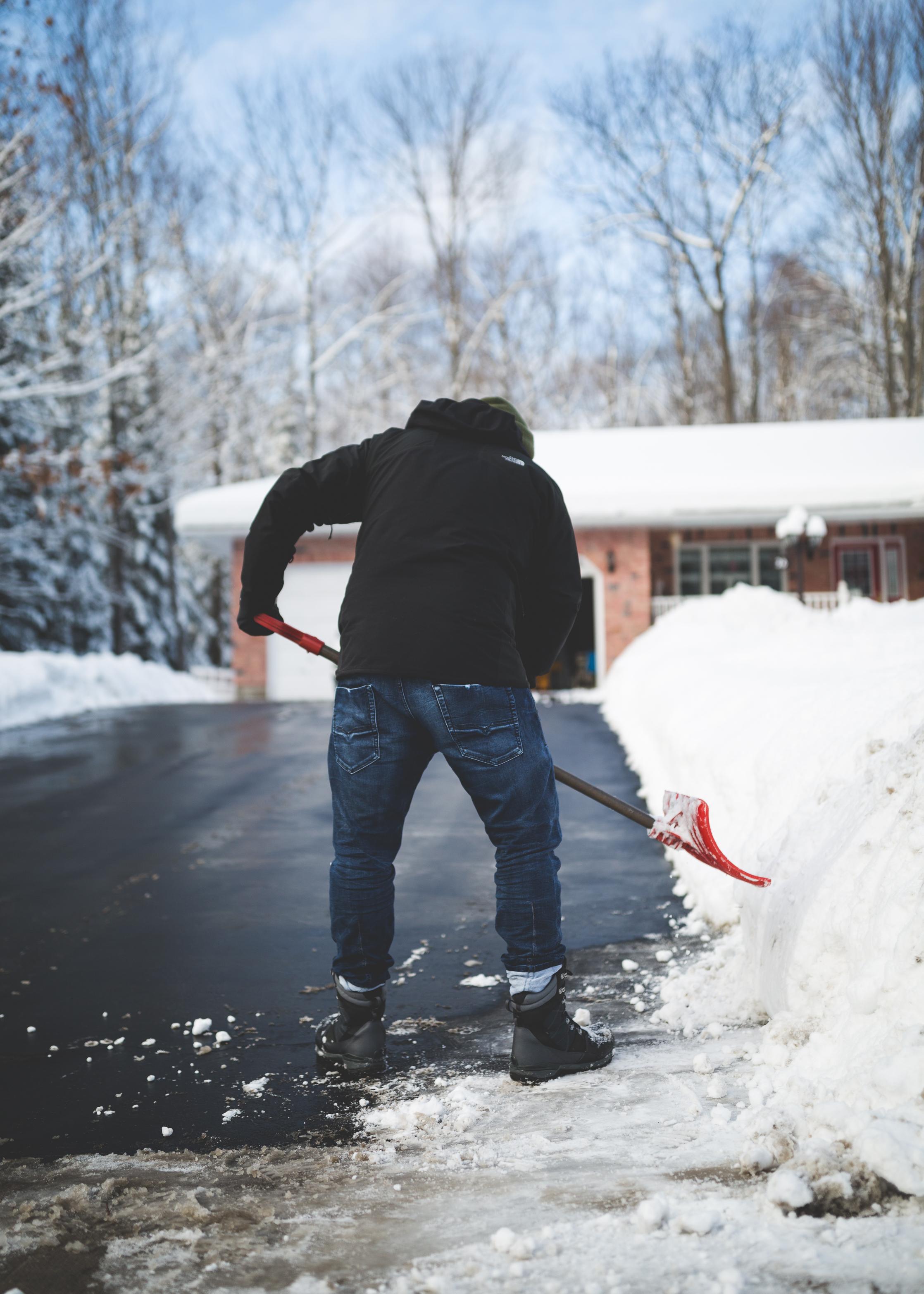 tips on shoveling snow