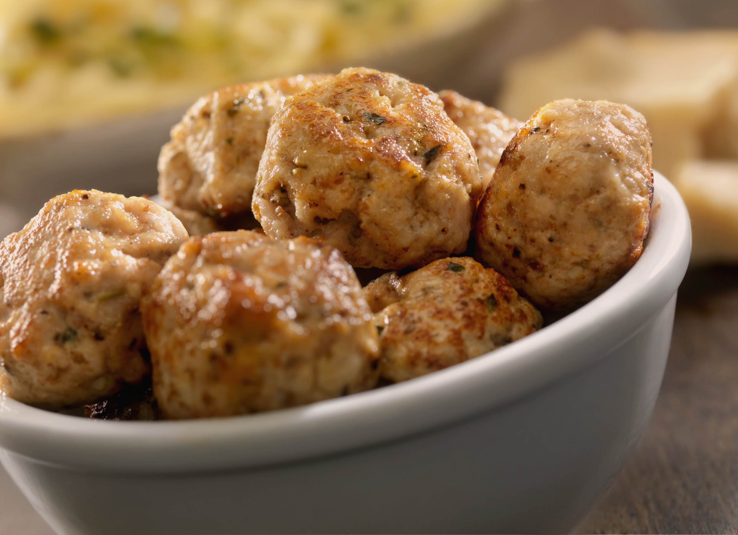 Why We ❤ Chicken Meatballs