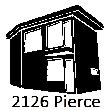 2126 Pierce   This quaint Airbnb was saved from the depths of disrepair, fully renovated, and is now available for short term rentals. As a perfect example of a rescued property, it's now a great place to stay when visiting Detroit!