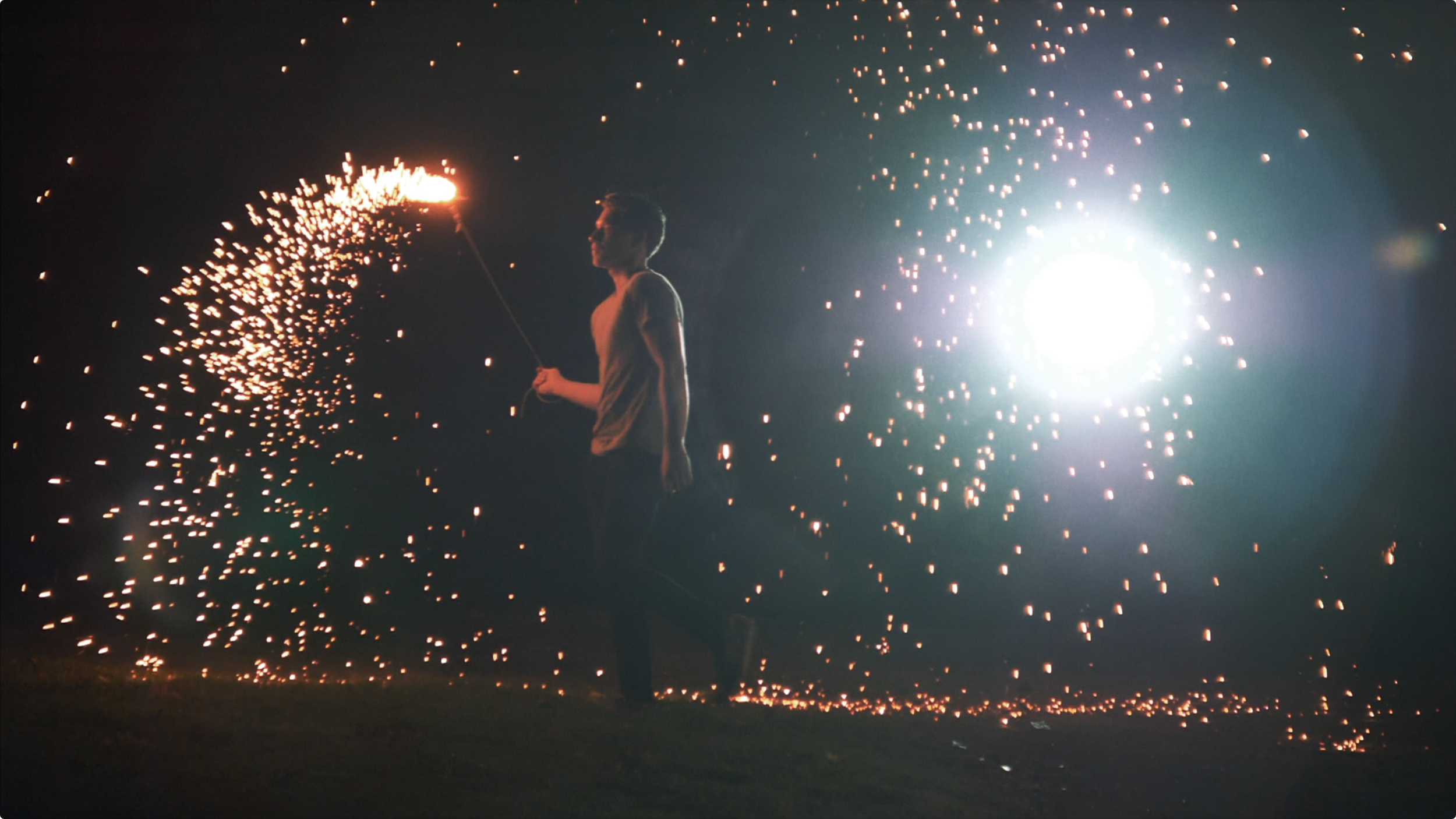 Post color grade indie music video