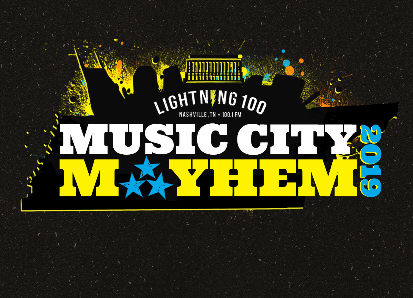 lightning 100's music city mayhem, battle of the bands contest