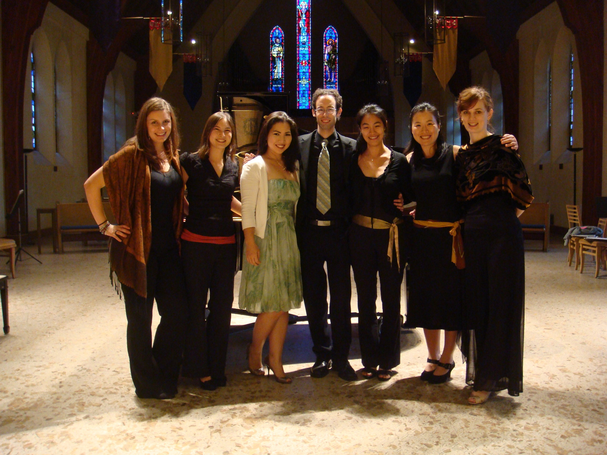 New Spectrum Ensemble, 2010.