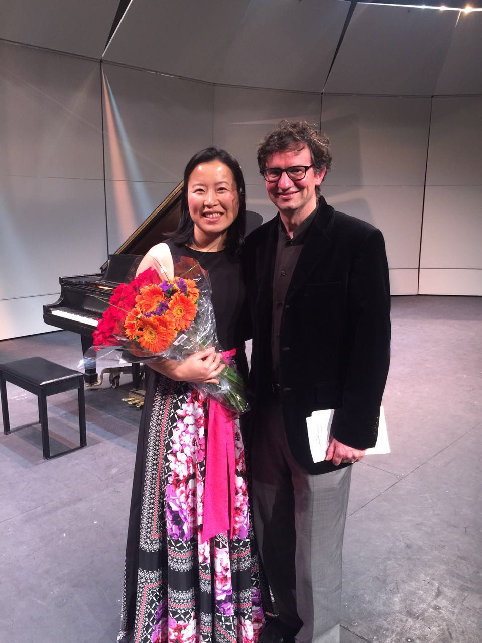 with composer David Meckler.