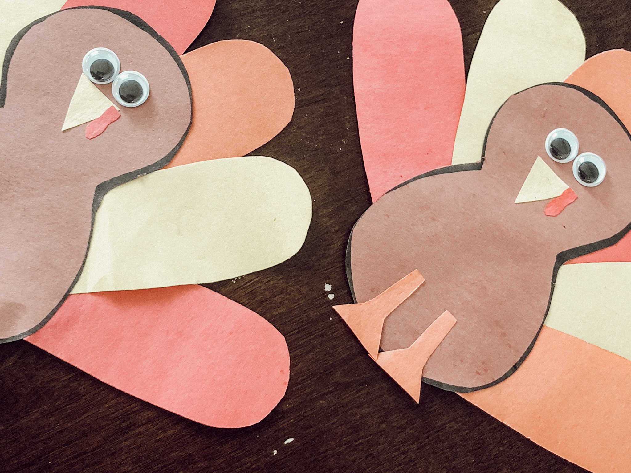 turkey crafts for toddlers