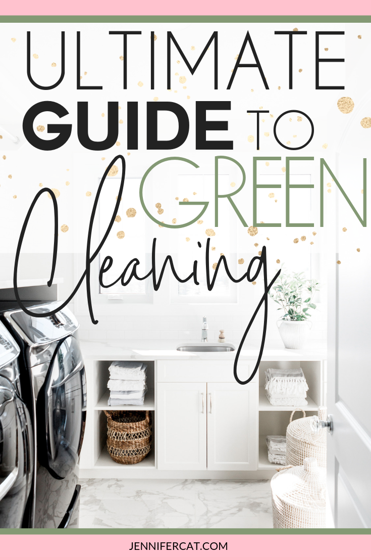 Beginners guide to green cleaning