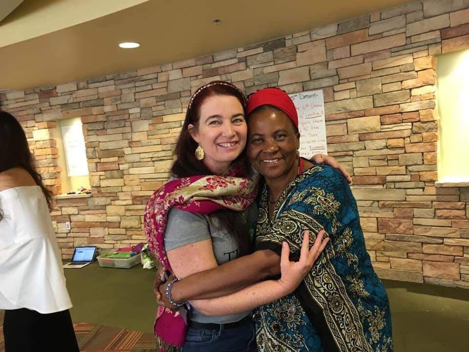 Peace and Dr Tererai Trent and 2018 Sante Fe Retreat