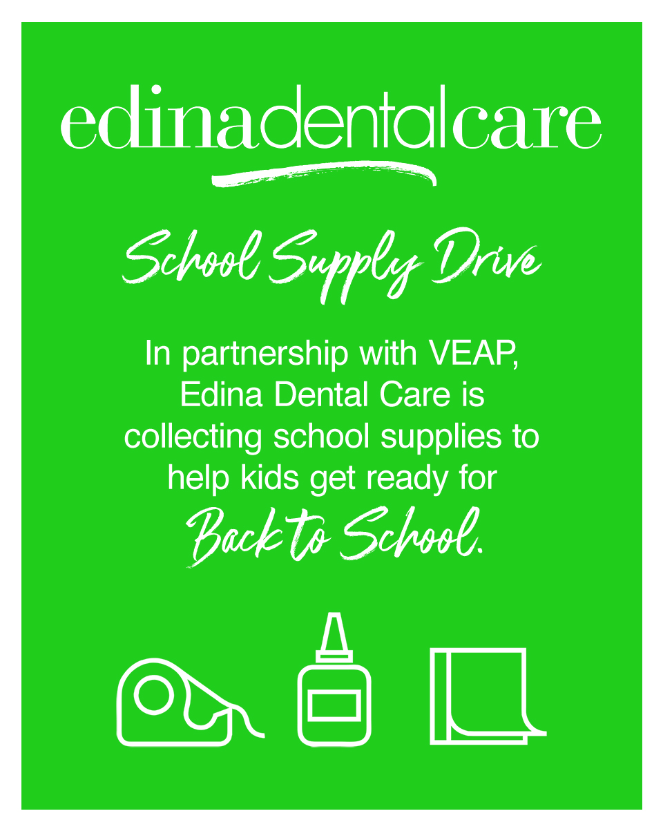 Edina Dental Care School Supply Drive 2019