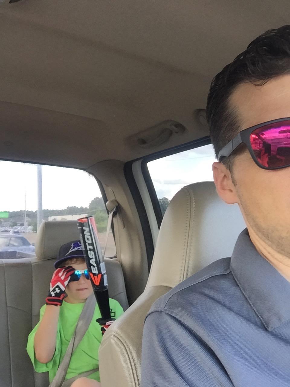 New baseball gear for Jake