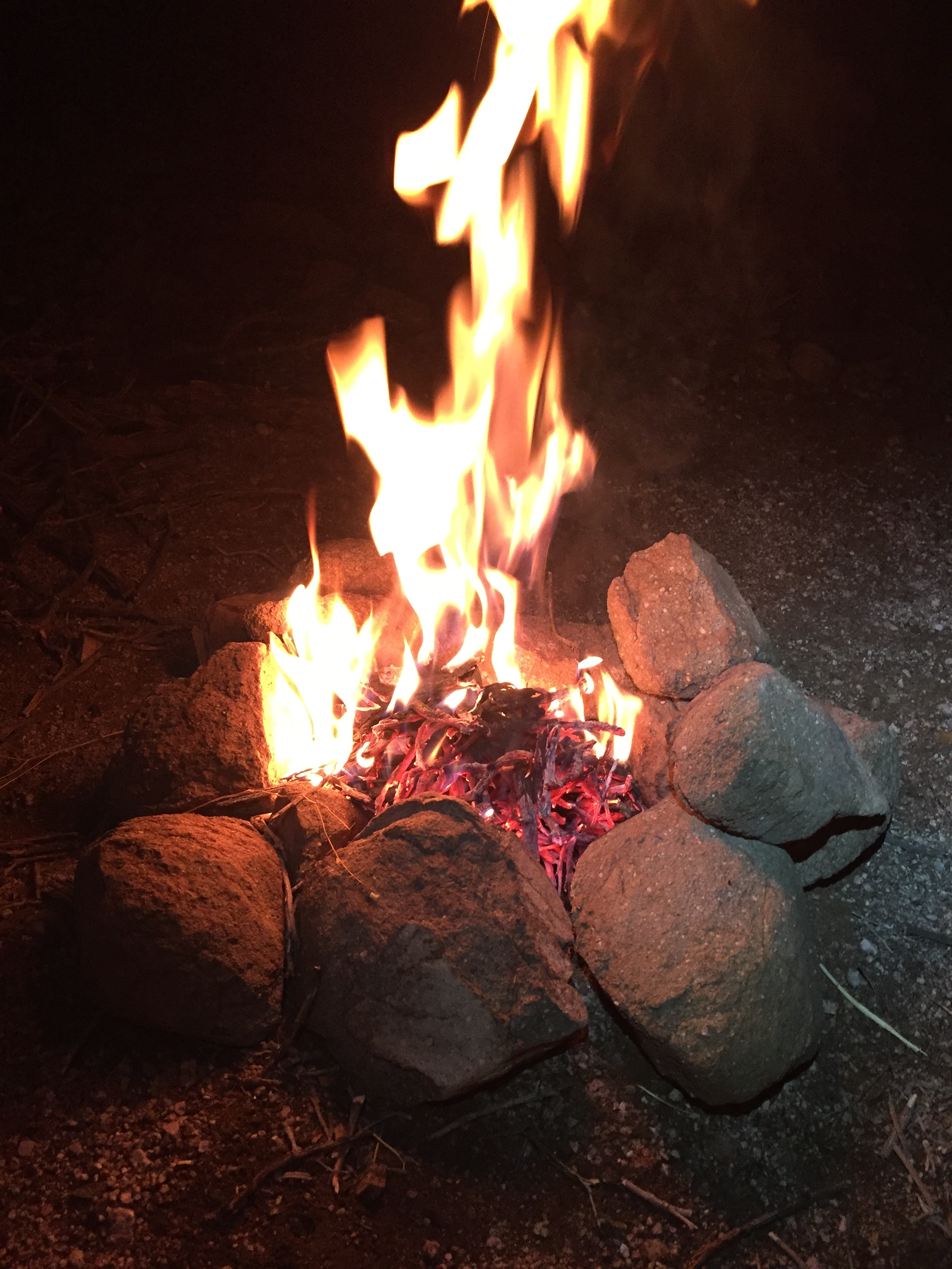 Fire is always good for the soul