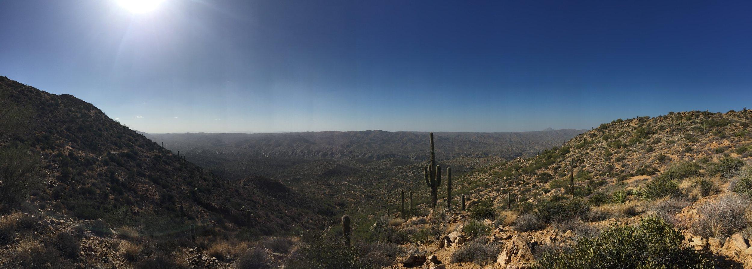 Great vista atop the Big Hill