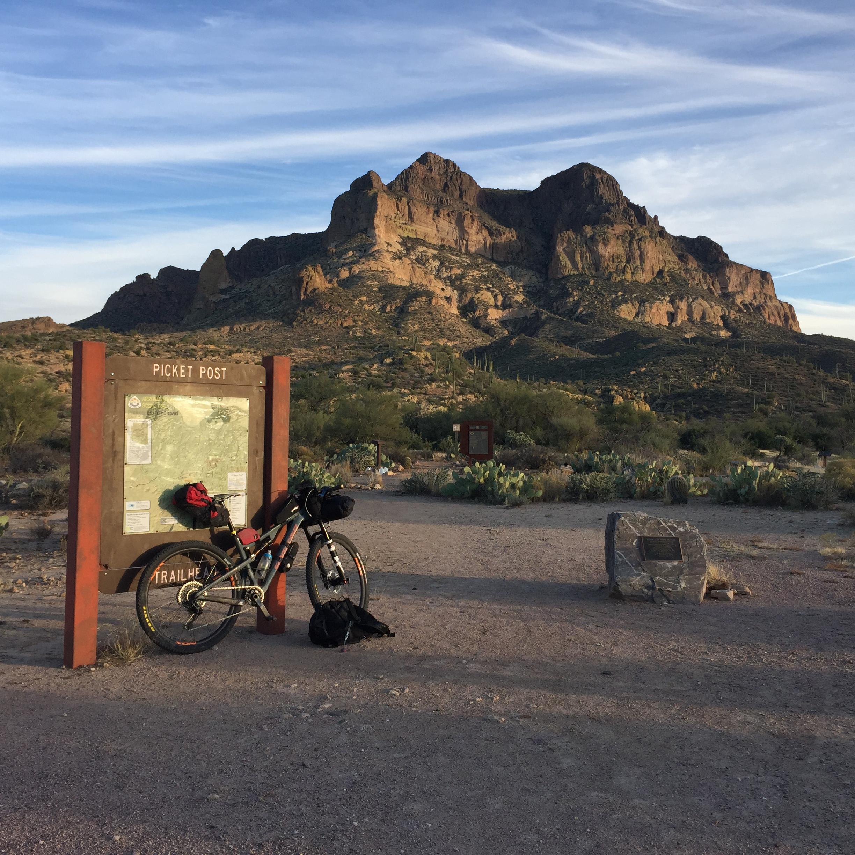 Iconic Picketpost Mountain