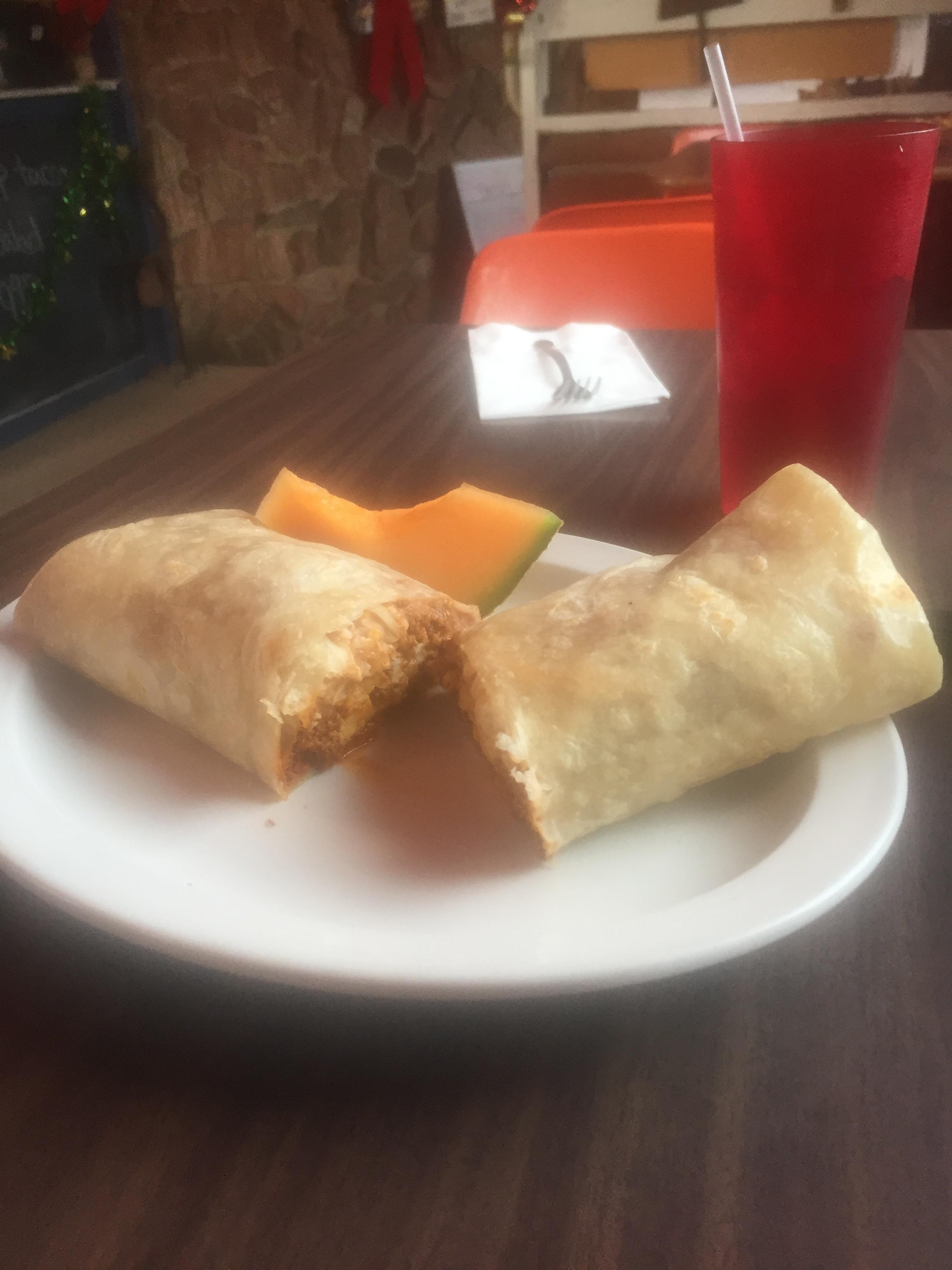 Best chorizo breakfast burrito ever