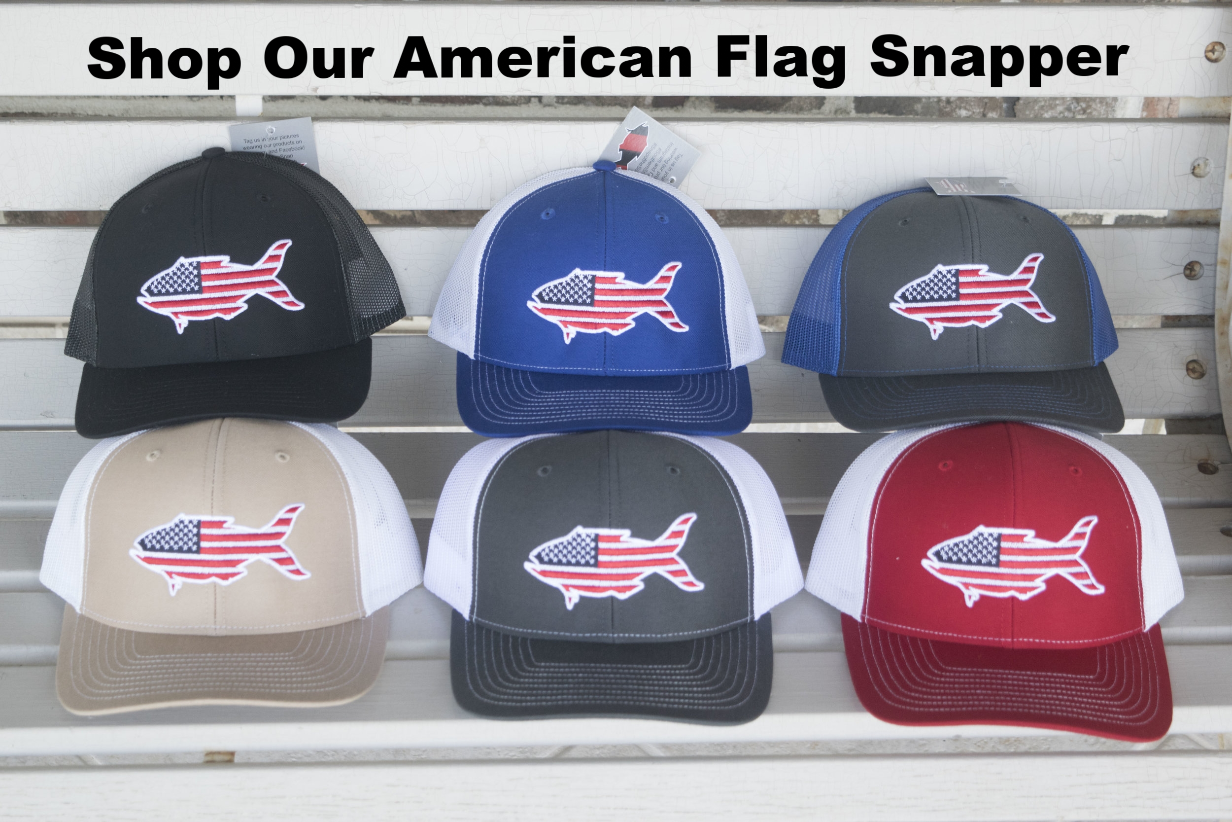 Shop Our American Flag Snapper