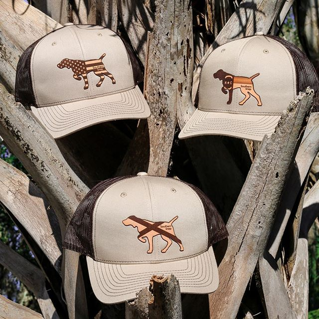 Go out and explore in our Leather Patch Pointer hat! Which state are you repping? . . . . #leatherpatch #alabama #northcarolina #usa #rolltide #ncstate #stateflag #camo #hunting #southernsnap #snapofthesouth