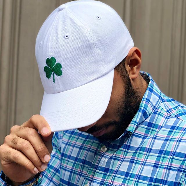 Clover hats are in right before St. Patrick's day! Grab one before the big day next week! #southernsnap #cloverhats #snapofthesouth