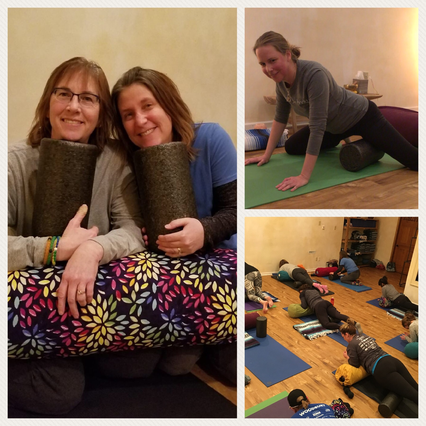A glimpse at our most recent workshop with guest teacher, Angie Fern. Catch our next Foam Roller & Tennis Balls Workshop in March:  Register Here .