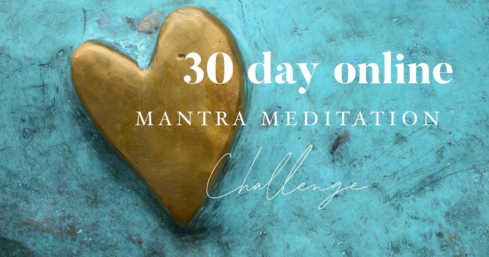Mantra Meditation Challenge
