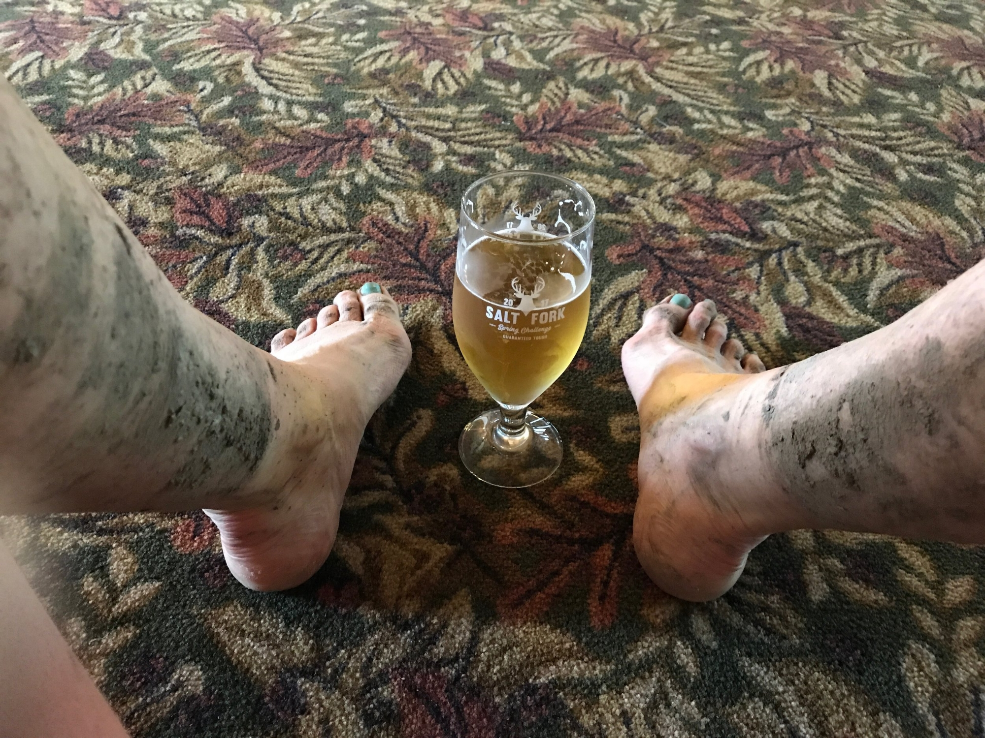 Mud and Beer - Salt Fork Challenge 2017