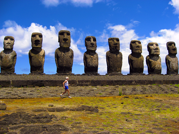 Easter Island Man and statues .jpg