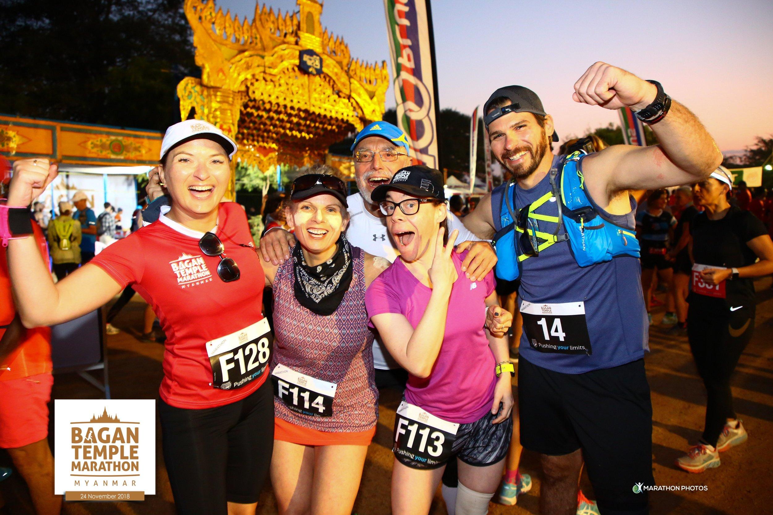 Bagan Temple Marathon 2018 - Myanmar