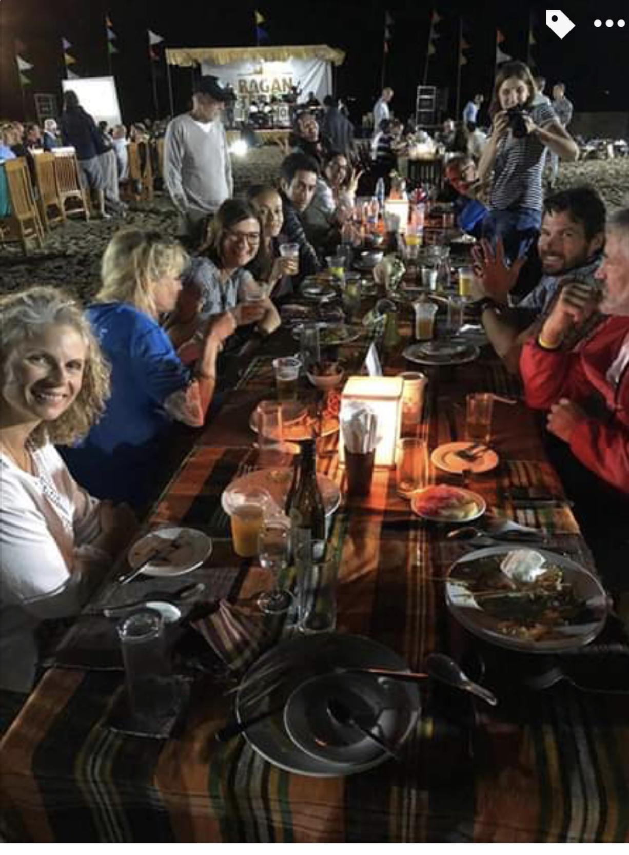 Celebration Dinner for the Bagan Temple Marathon runners