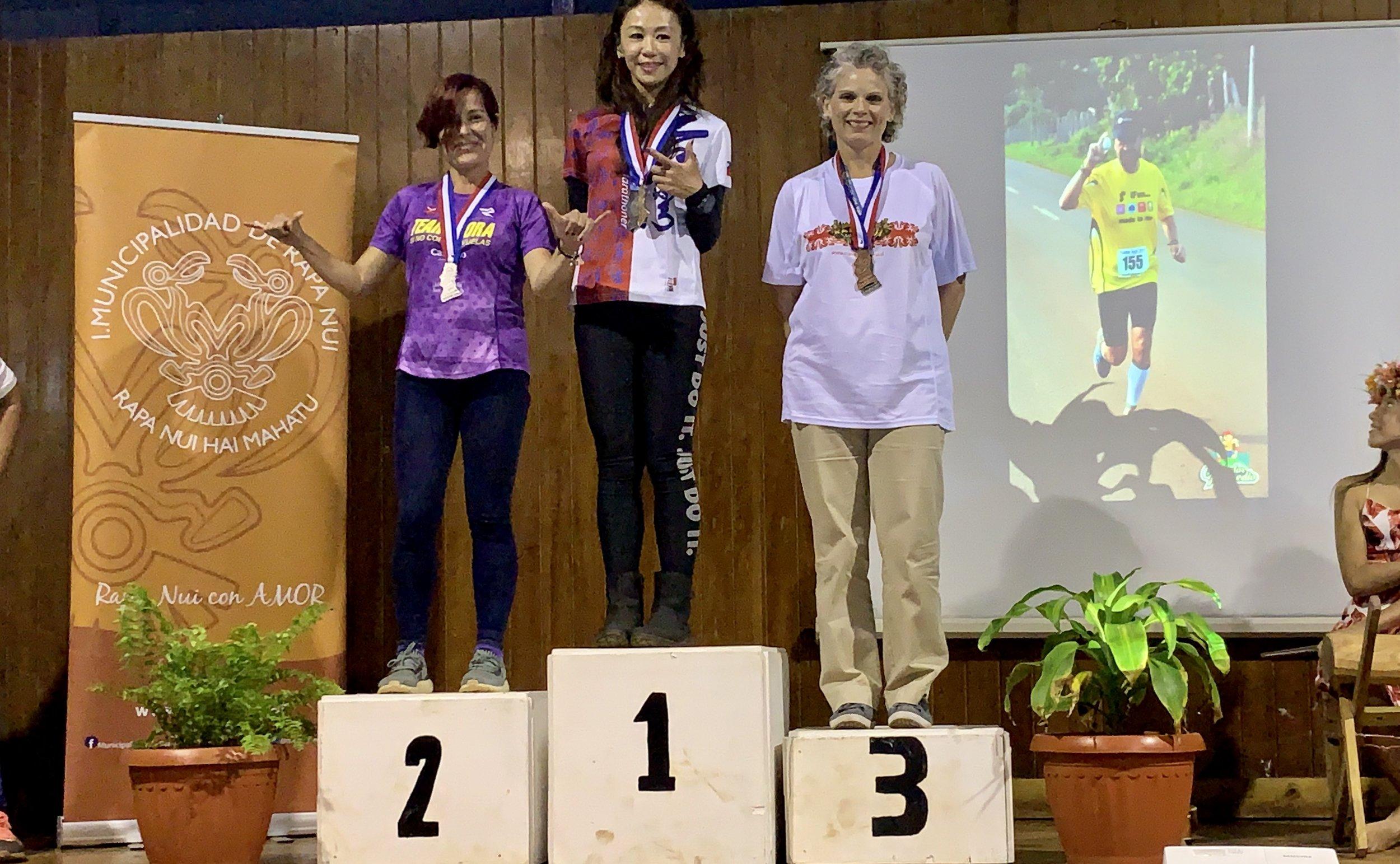 podium 3rd place