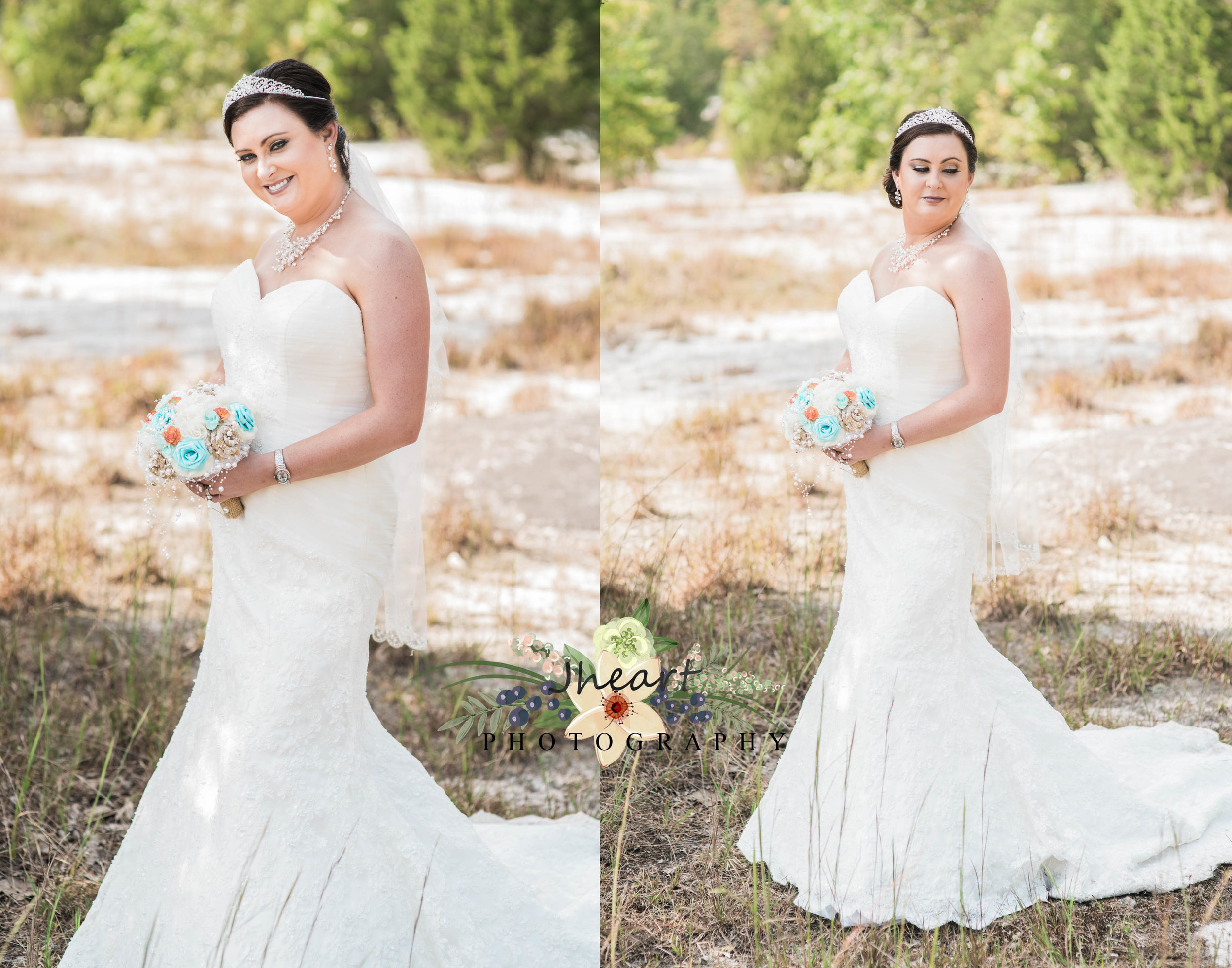 Bridal shoots are a perfect chance to get to wear that stunning gown one more day!