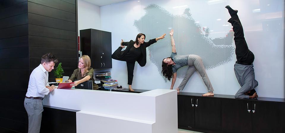 Workplace Yoga -