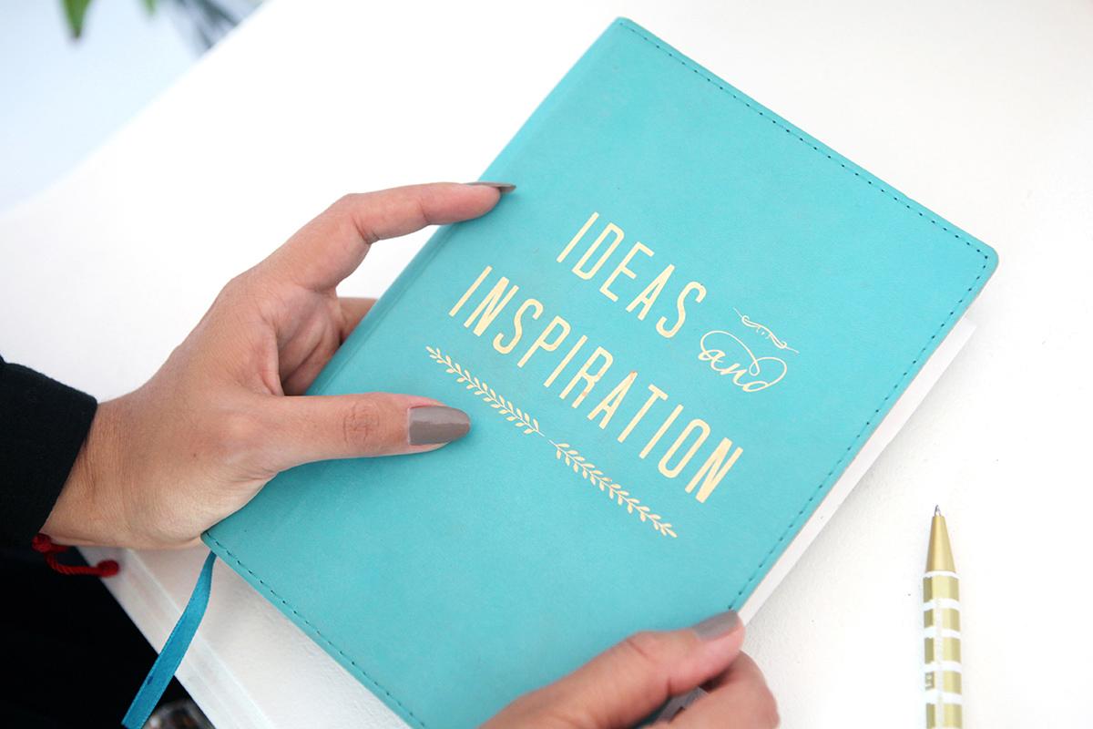 Noeli Pelaez shares her inspiration book.