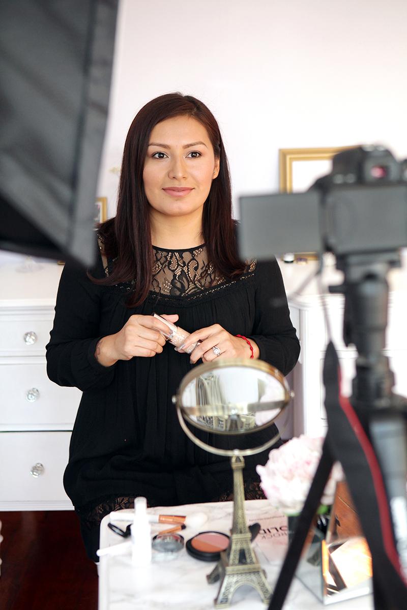 Vegan Beauty Blogger, Noeli Pelaez