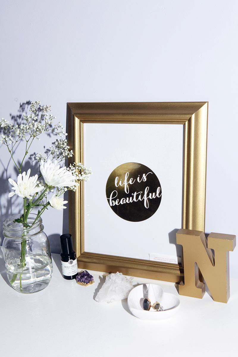 Beauty Room desk inspiration.