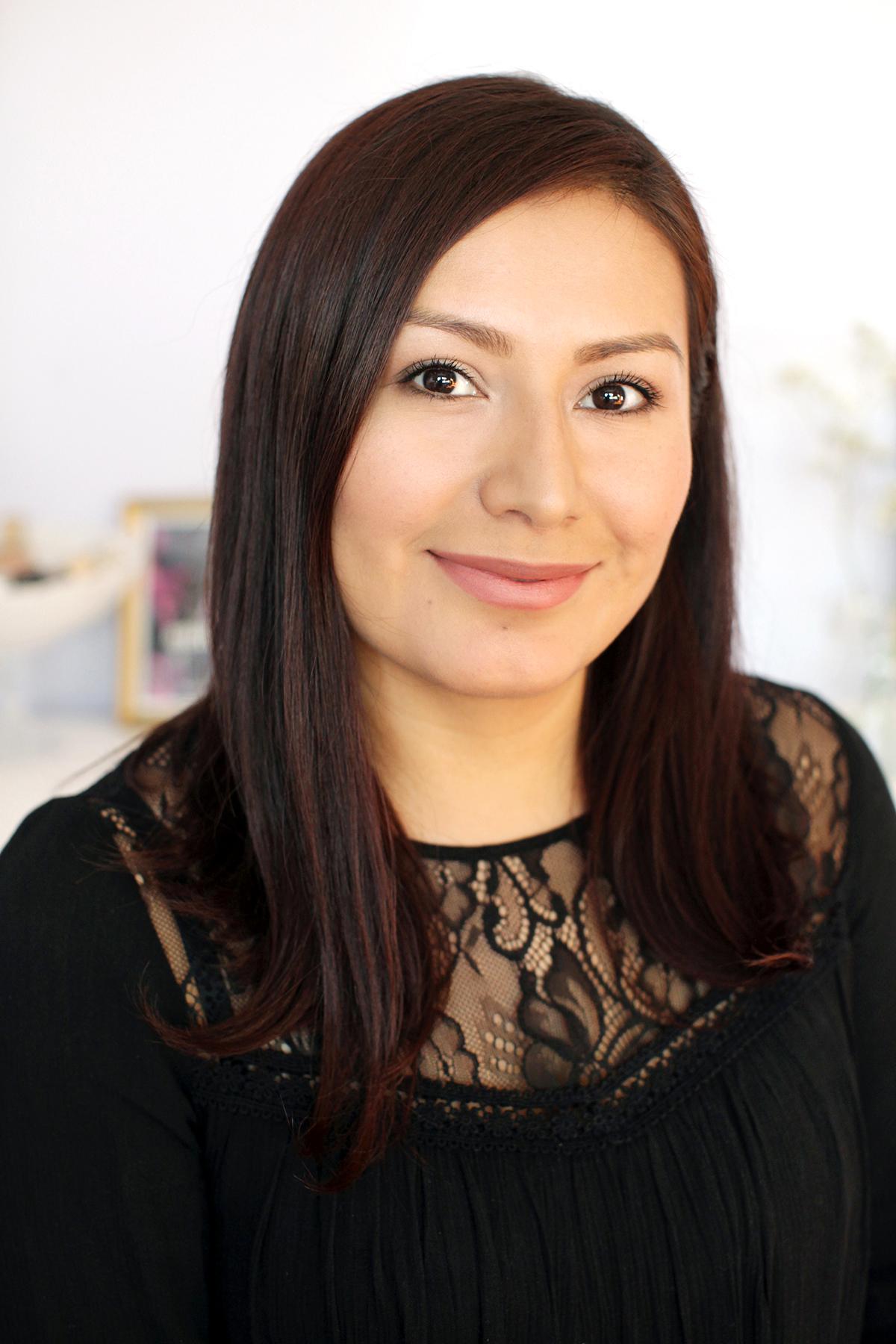 Green Beauty blogger, Noeli Pelaez.