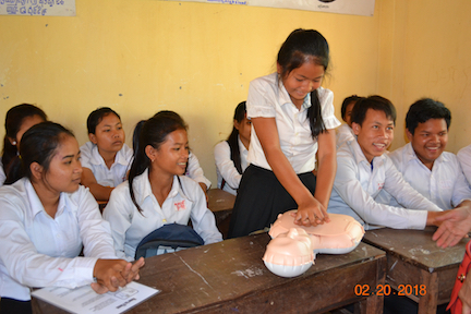 Sofie's CPR class