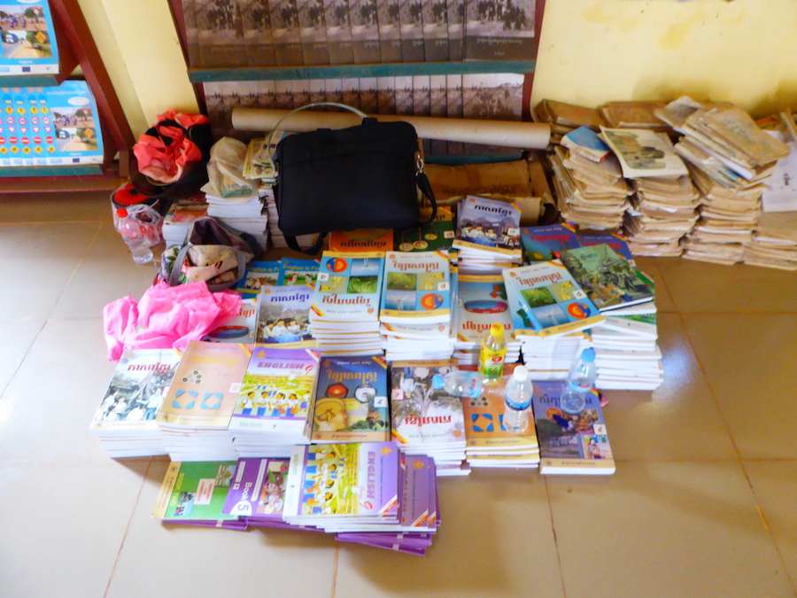 Smera raised funds to donate these books