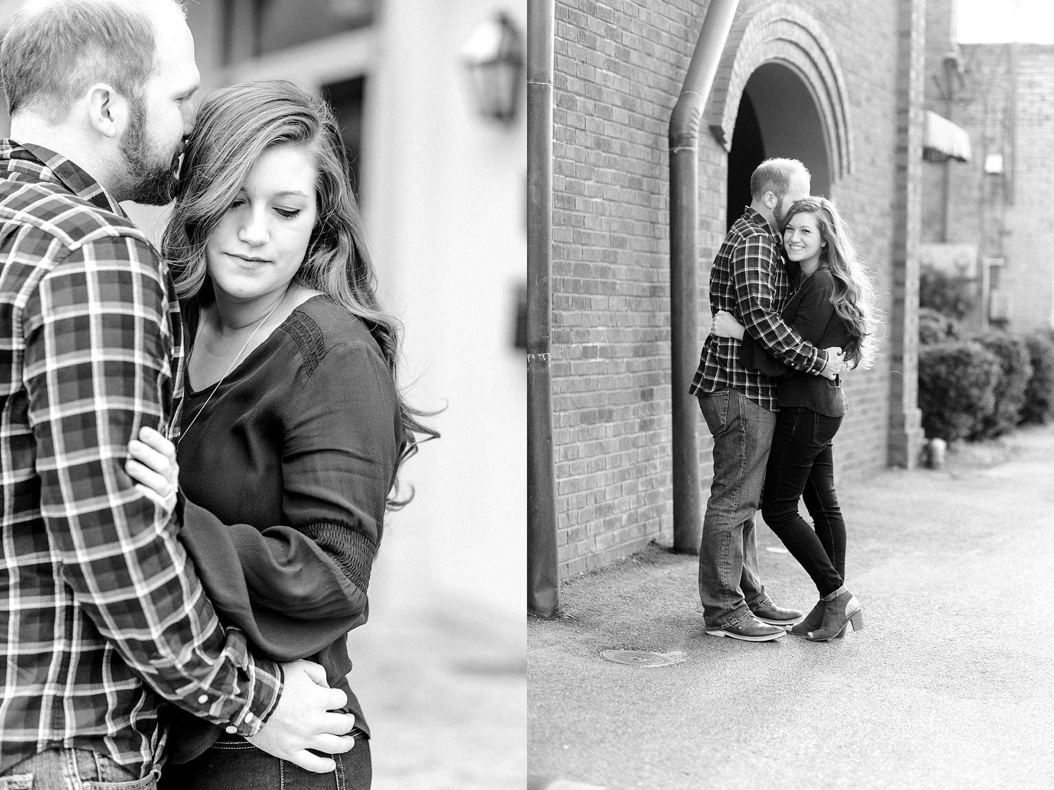 Mantissa Hotel engagement session in Hartsville, SC