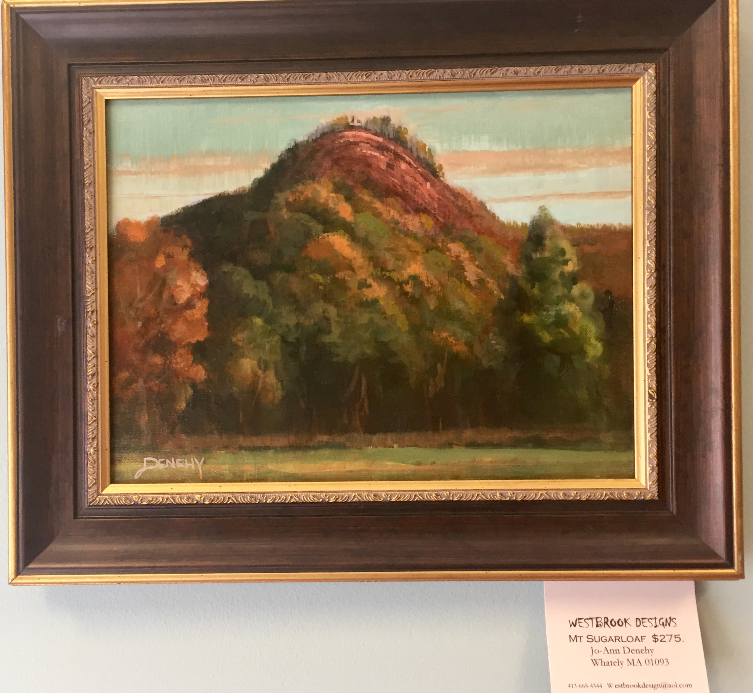 Mount Sugarloaf by Jo-Ann Denehy at The Daylily in South Deerfield