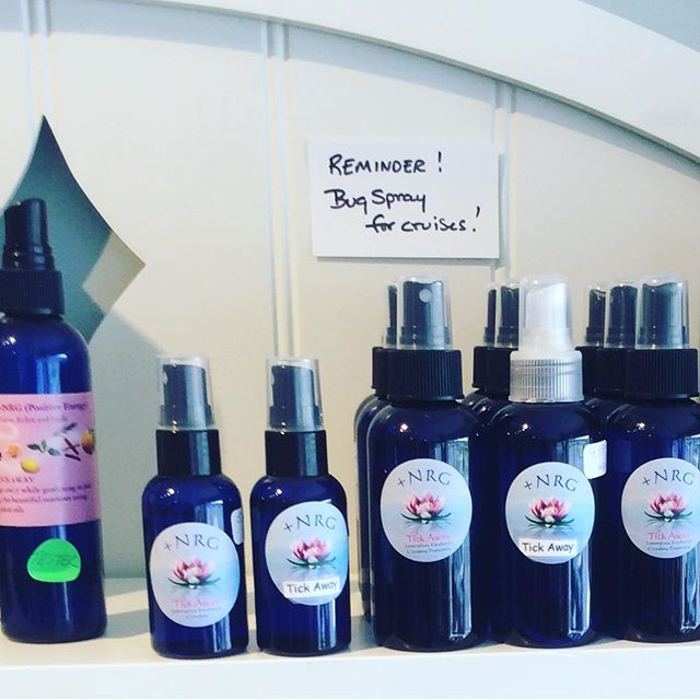 Bug AND tick repellent spray is in IN STOCK! #tistheseason #allnatural #naturalliving #hikinggear