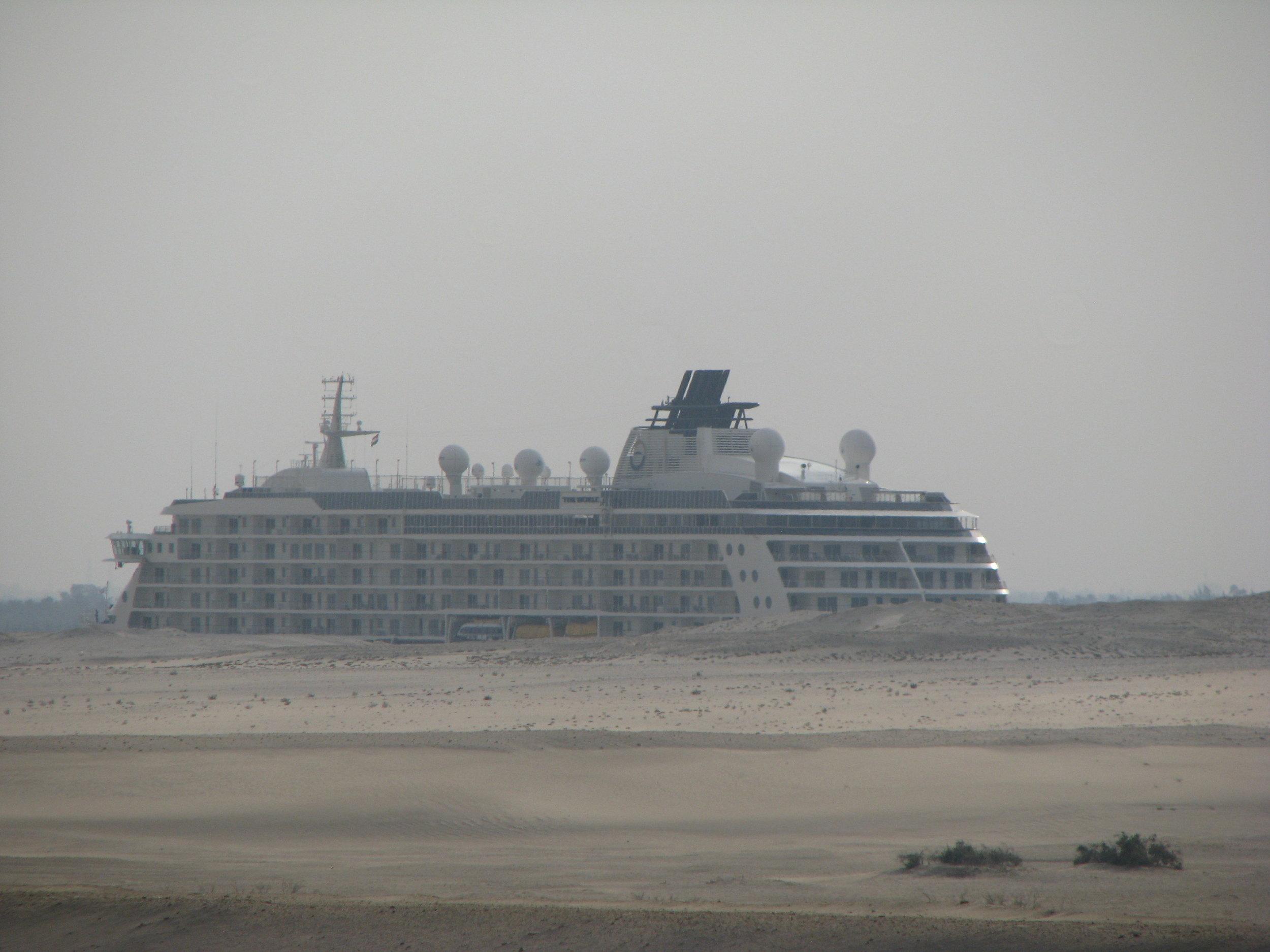 CruiseShipSuezSand.JPG