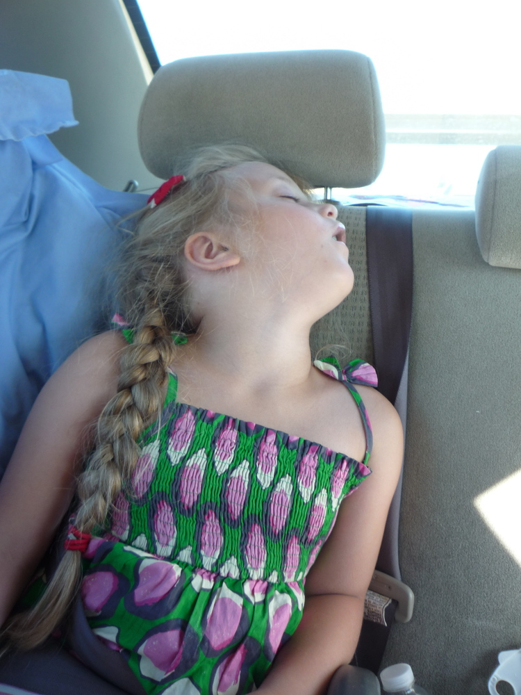 Two days after landing in LA in July 2011 we drove Mathilda to Stanford, the world's leading centre for narcolepsy research. We were full of hope-- that she would get the treatment she needed. Before then, she spent the better part of every day asleep.