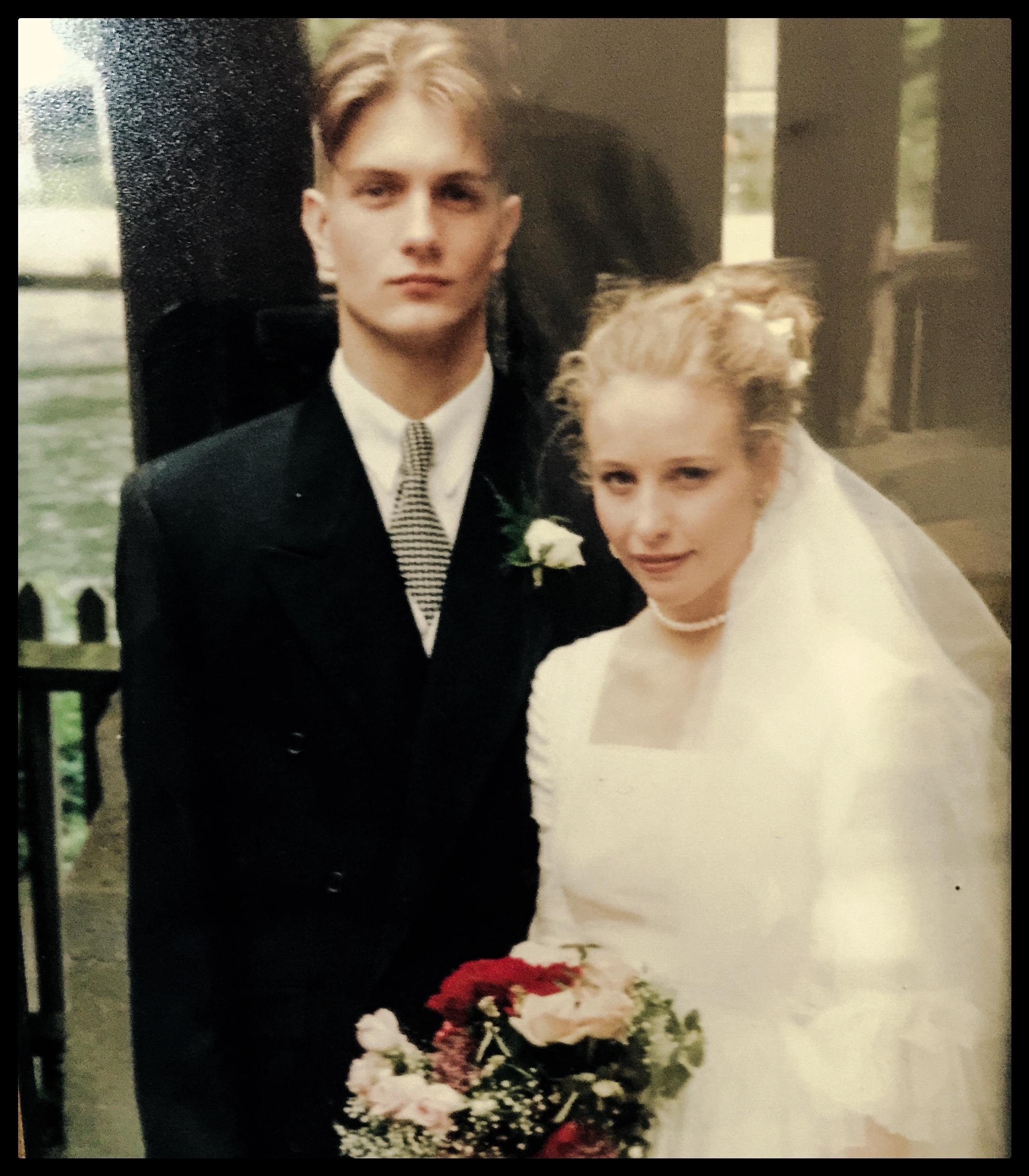 So we were kids. July 1993, London.