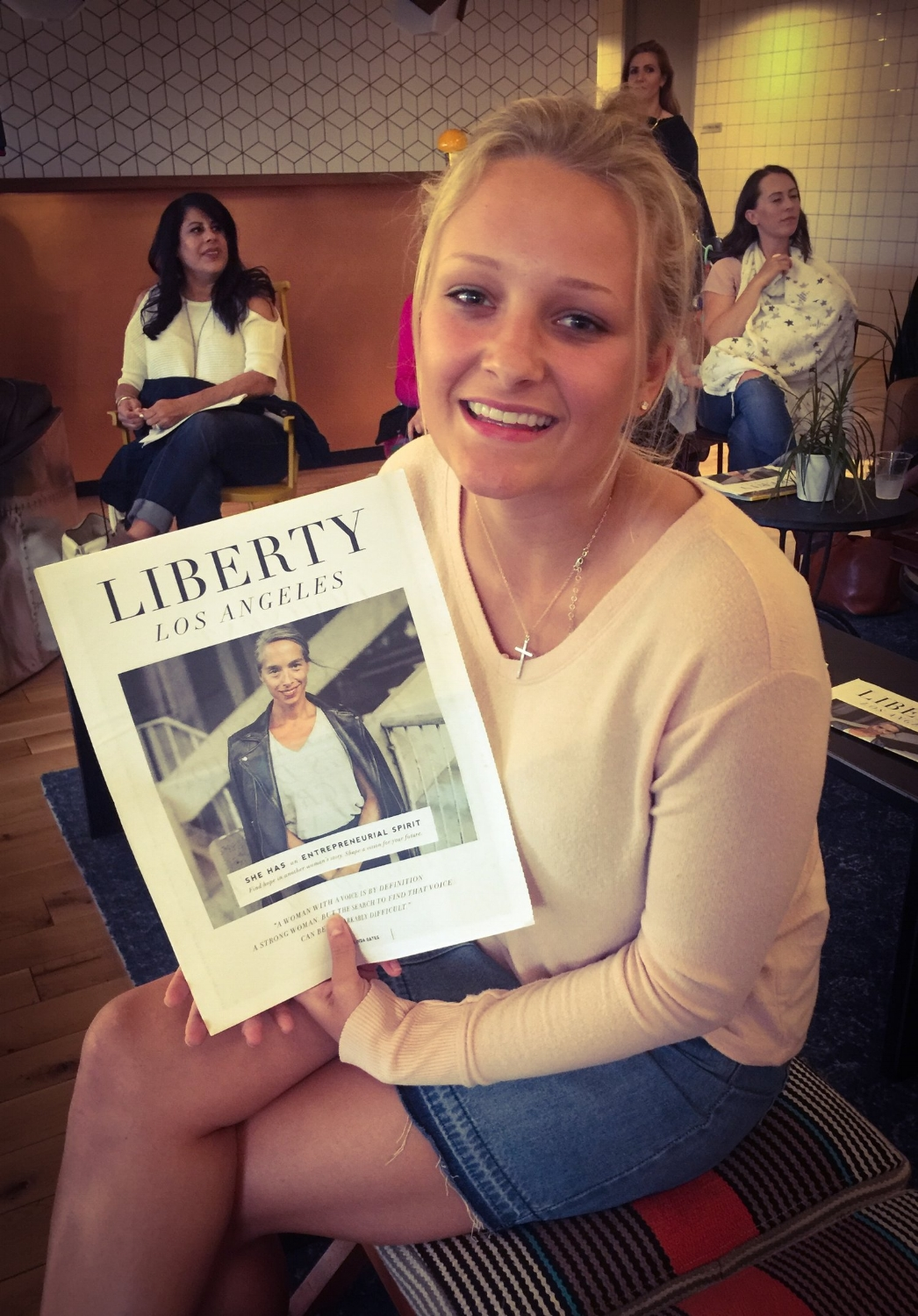 We named our daughter Liberty 17 years ago. She lives up to her name :)